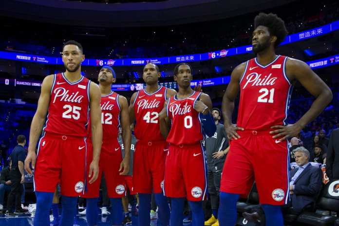 The 76ers team Elton Brand constructed after Jimmy Butler left for Miami