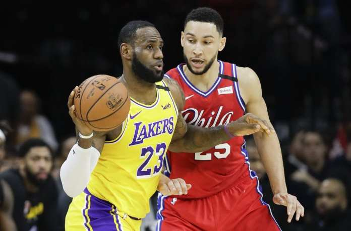 LeBron James & Ben Simmons