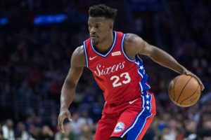 Jimmy Butler was brought in by Elton Brand in 2019