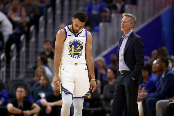 Steph Curry's body language is a downer on the court