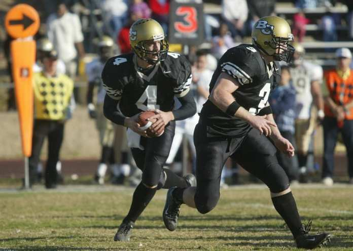 Aaron Rodgers playing college football at Butte