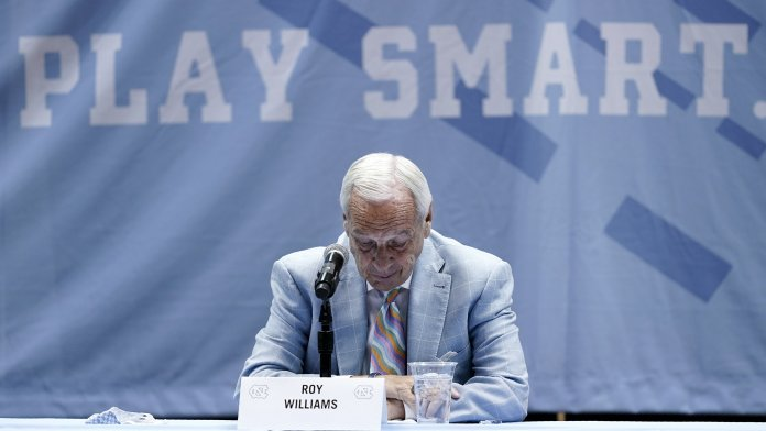 UNC coach Roy Williams retiring from college basketball in some effect because of the transfer portal and its effects on the game