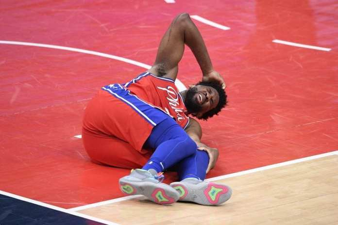 Another Joiel Embiid injury