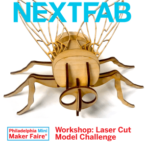 NextFab Laser cut model workshop