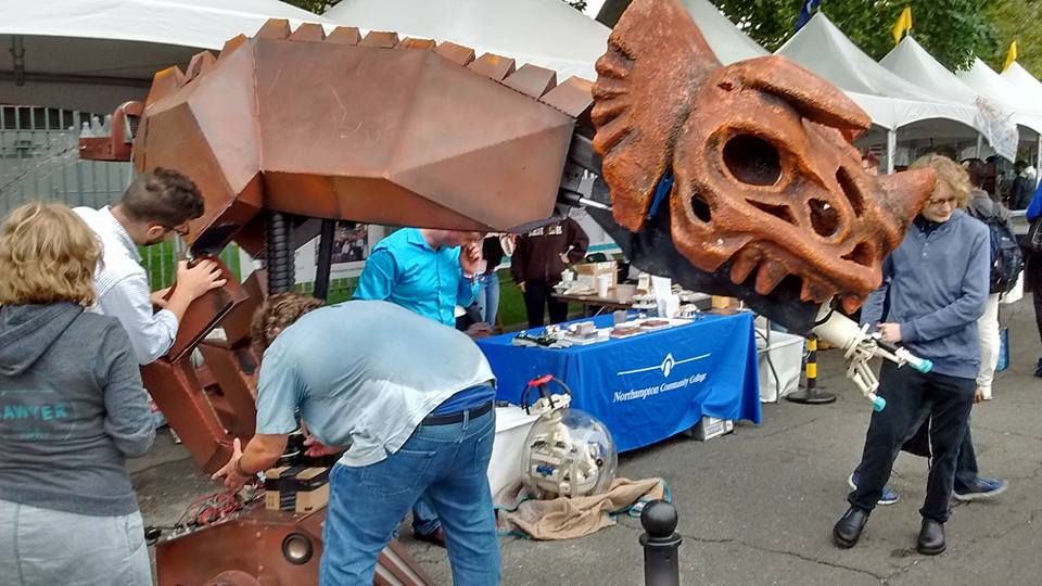 TOBOR - the Robotic Dinosaur