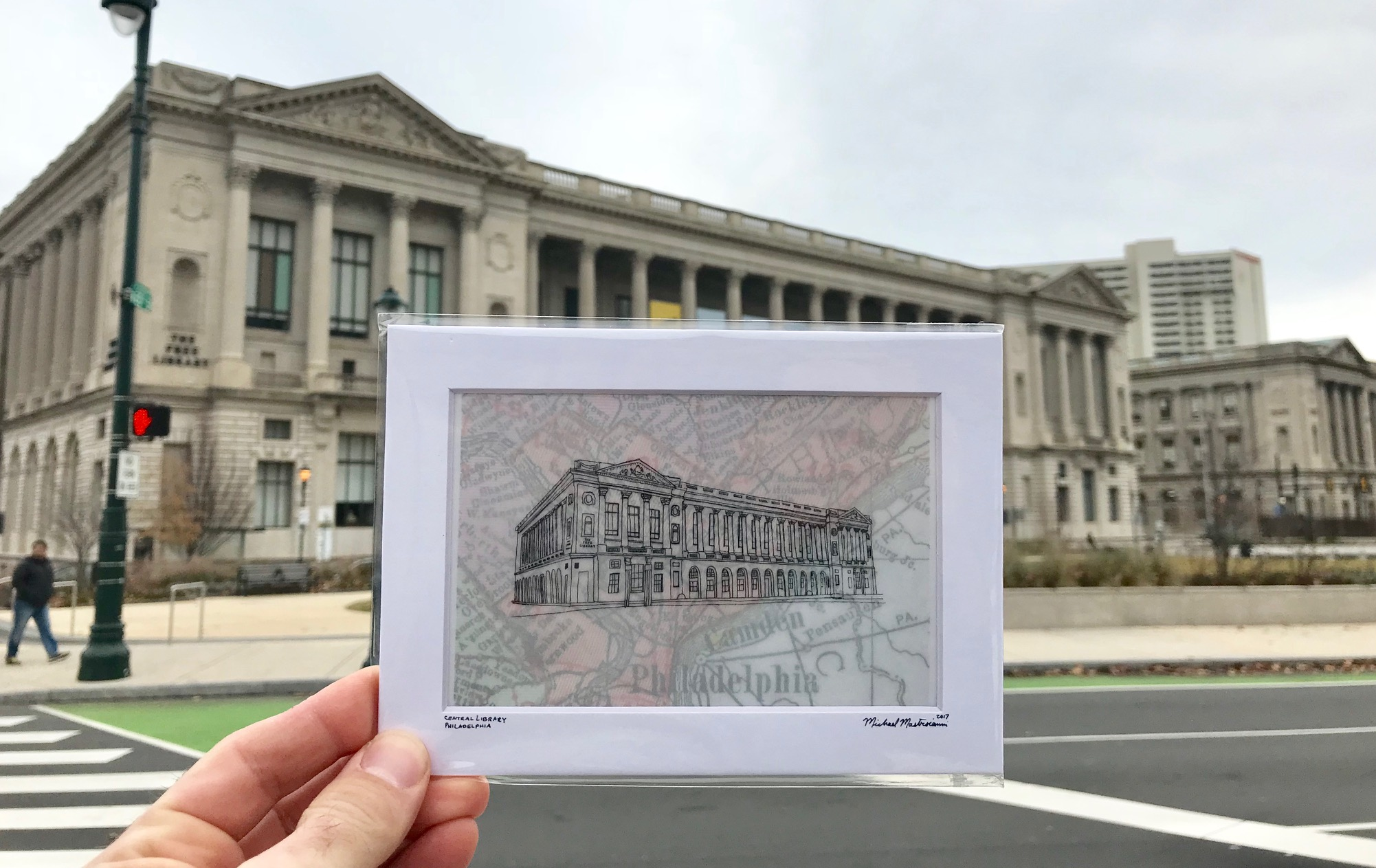 Michael Mastroianni of City Line Drawings