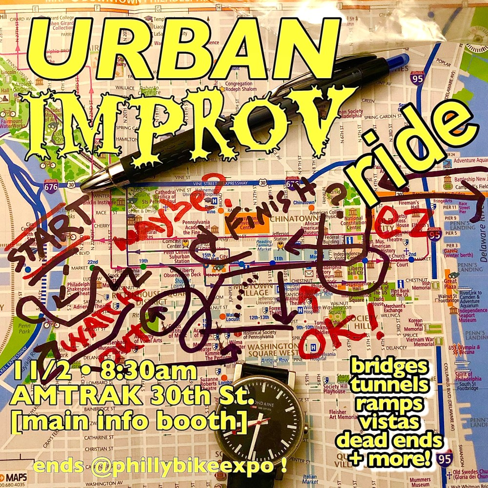 URBAN IMPROV RIDE