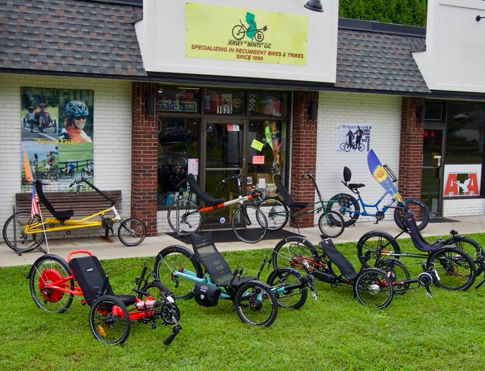 Jersey Bents: Recumbent by Choice