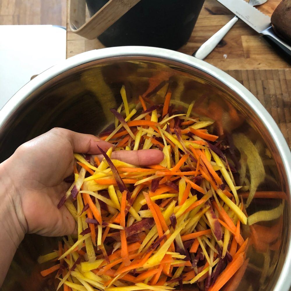 PBE Recipes: Bright and Crunchy Carrot Slaw