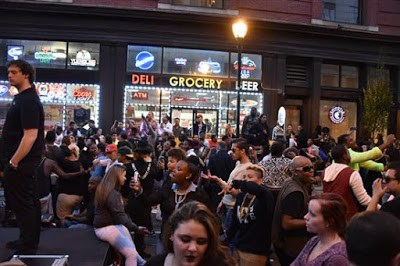 What Happened After You Left OutFest, People Dancing in the Streets to the bitter end #GayPhilly