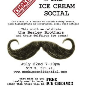 Cookie Confidential is bringing back the Ice Cream Social