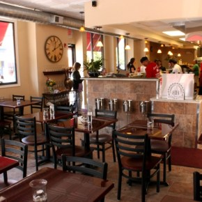 Santucci's Now Open – 10th & Christian