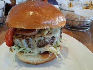 image: Zinburger Honolulu Baby Burger