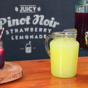 Naked Grape Pinot Noir Strawberry Lemonade