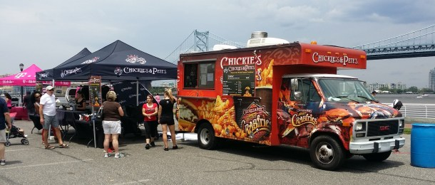 Chickie's and Pete's Food Truck