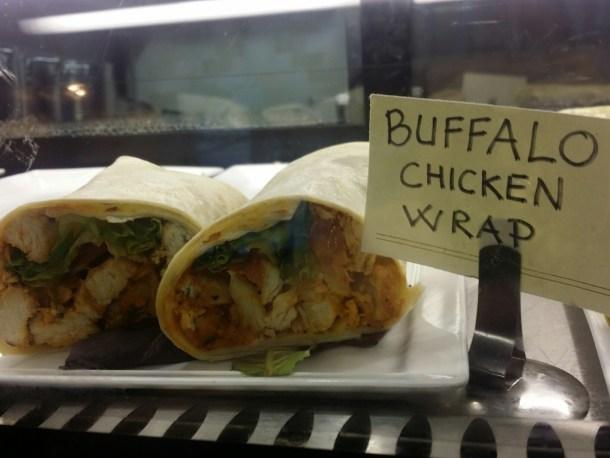 Ventuno Buffalo Chicken Wrap