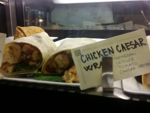 Ventuno Philly Chicken Caesar Wrap