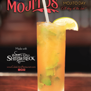 Philadelphia Celebrates National Mojito Day on Saturday July 11th