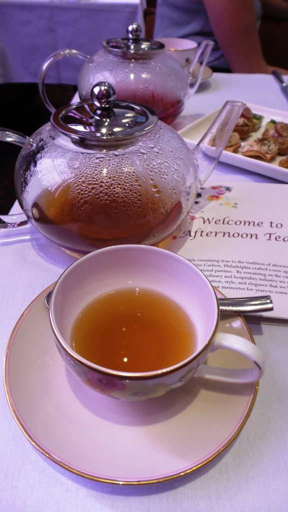 A pot of chocolate chai tea