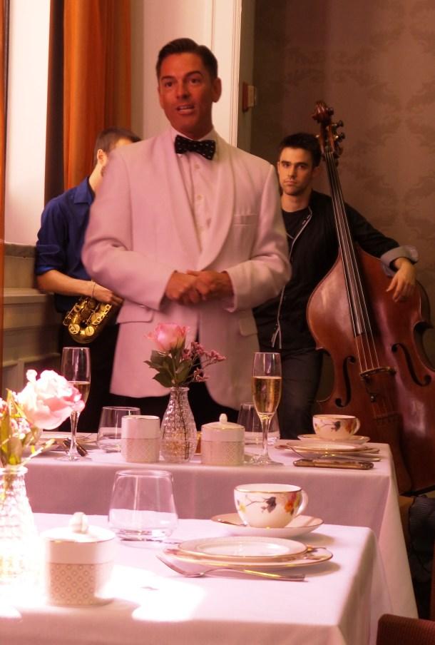 Jeffrey Hattrick Introduced the Afternoon Tea Program at Ritz Carlton Philadelphia