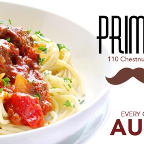 Prime Stache AYCE Pasta Night Starts August 16