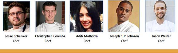 Forbes 30 Under 30 Food Festival Chefs