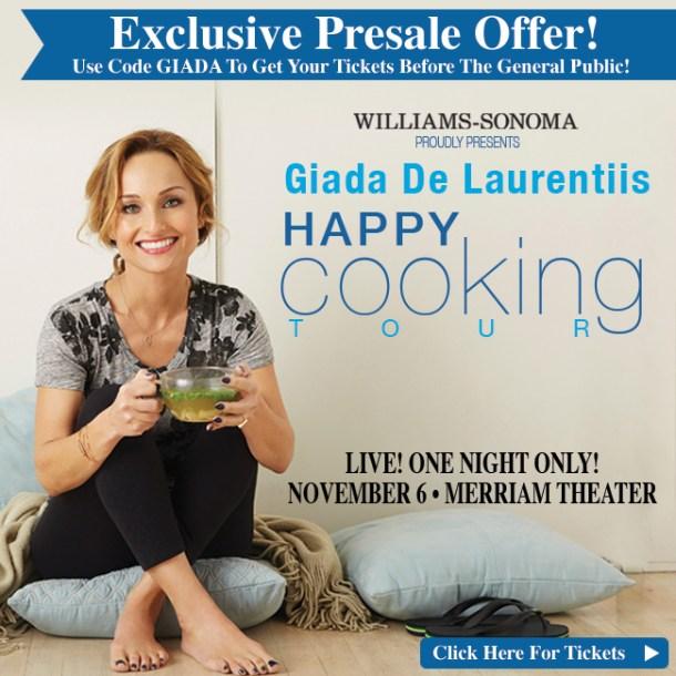 Giada De Laurentiis Book Tour Philadelphia
