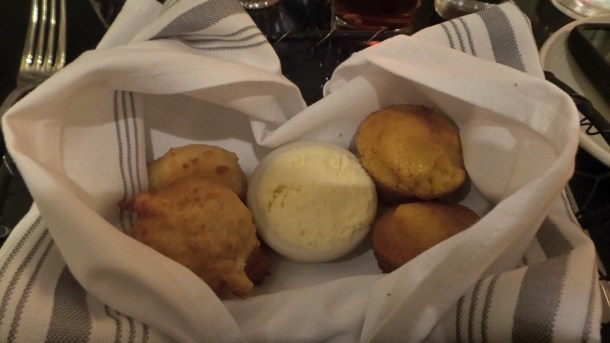 Cornbread Muffins and Biscuits at SOUTH Kitchen & Jazz Parlor