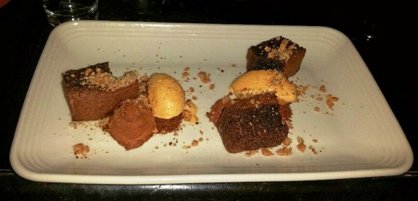 Chocolate Cake at SOUTH Kitchen & Jazz Parlor