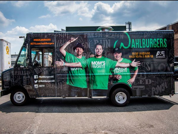 Wahlburgers Food Truck