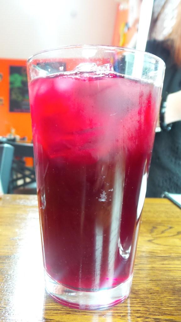 Chicha Morada Juice at El Tule Lambertville