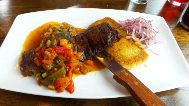 Skirt Steak Tacu Tacu en Rajas