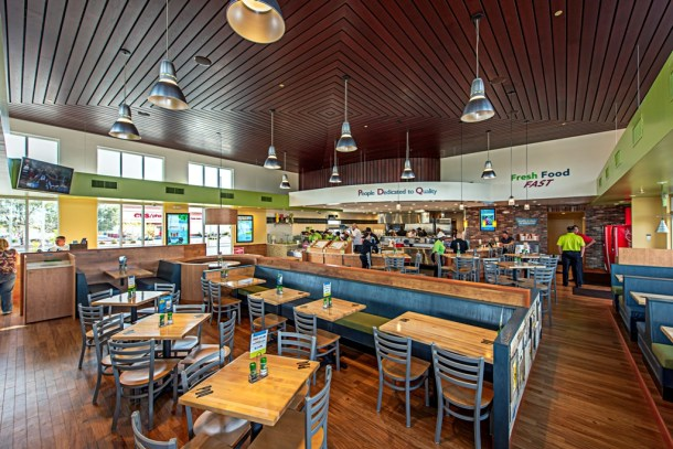 Interior PDQ Sicklerville NJ