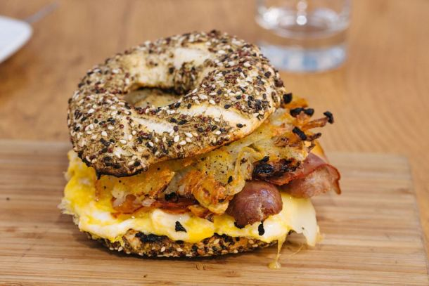 Opa Brunch - Everything Bagel