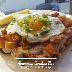 American Sardine Bar Brunch Starts on MLK Day