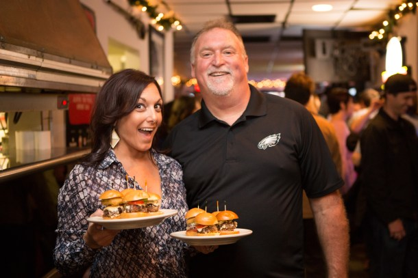 Joey and Nicole of Nick's Bar and Grille