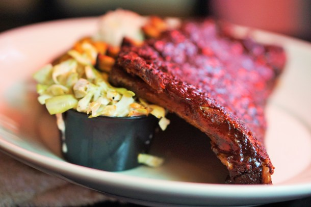 Nick's Old City St. Louis BBQ spare ribs