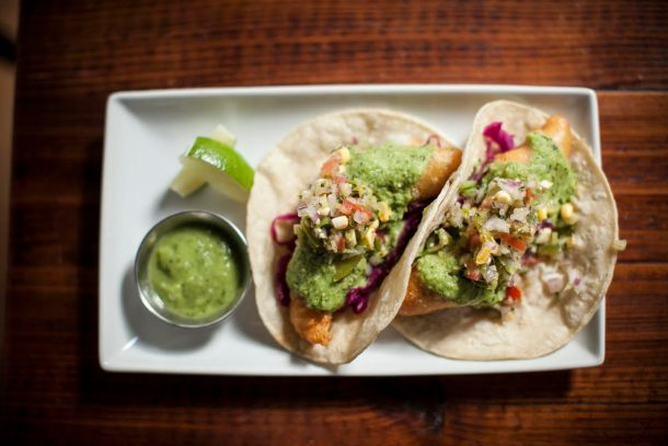 Tria Taproom Lunch Tacos