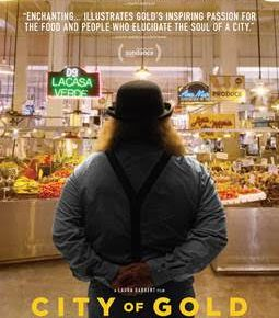 [GIVEAWAY] City of Gold, The Story of LA Food Critic Jonathan Gold, at The Ritz at The Bourse