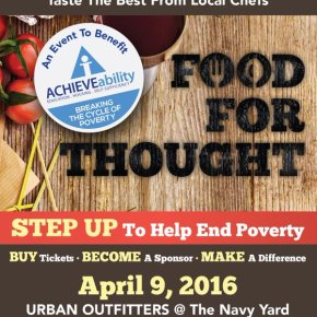 Food for Thought 2016 Benefiting ACHIEVEability at Urban Outfitters