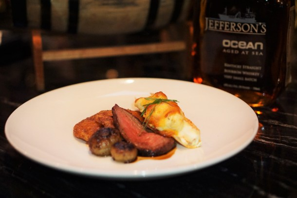 LP Steak Bourbon Dinner with Jeffersons Bourbon