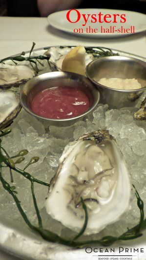 Ocean Prime - Oysters on the Half Shell