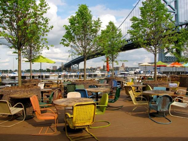 Morgans Pier Philadelphia