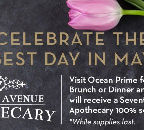 Ocean Prime Open for Mother's Day Brunch