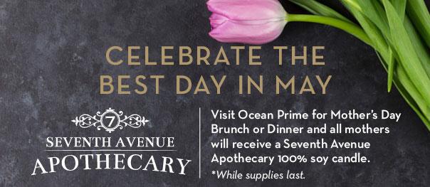 Ocean Prime Mother's Day Brunch 2016