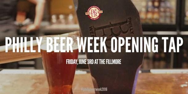 Philly Beer Week 2016 Opening Tap