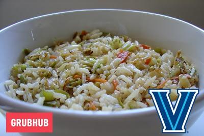 veggie fried rice villanova grubhub