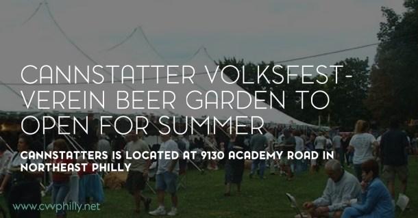 Cannstatter Beer Garden Summer 2016