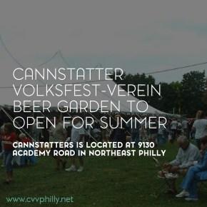 Cannstatter Volksfest-Verein To Open Outdoor Beer Garden