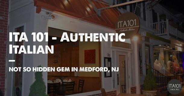 ITA 101 Authentic Italian Medford